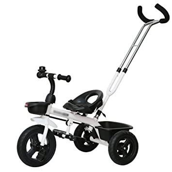 Triciclos Trike para niños Triciclo Bicicleta Carrito para bebés Bicicleta para niños 3 ruedas 1-3 años Niños (Color : Blanco) : Amazon.es: Juguetes y ...