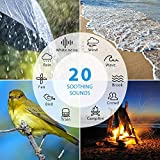 AVANTEK-White-Noise-Sound-Machine-for-Sleeping-20-Non-Looping-Soothing-Sounds-with-High-Quality-Speaker-Memory-Function-30-Levels-of-Volume-and-7-Timer-Settings