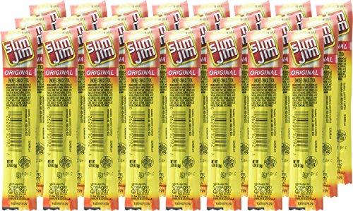 Slim Jim Snack Sticks, Original, .28 Ounce, 26 Sticks