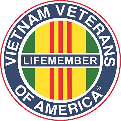 - MilitaryBest VVA Life Member Decal