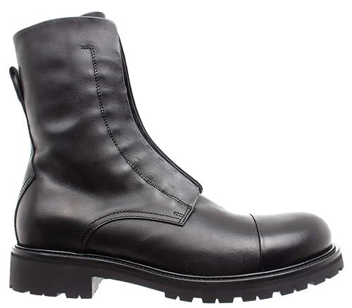 54883e0cbc Belstaff Scarpe Stivali Uomo 77800235 Huntscott Black Pelle Made in Italy  Nuove