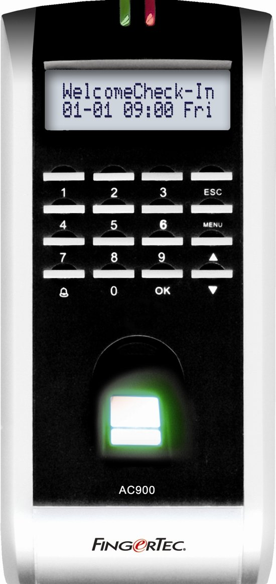FingerTec USA AC900 FingerTec Access Control and Time Attendance Fingerprint