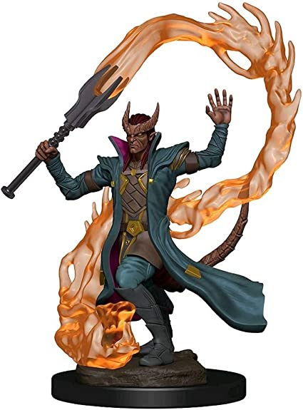 D&D: Icons of the Realms - Premium Figures - Tiefling Male Sorcerer,  Galápagos Jogos   Amazon.com.br