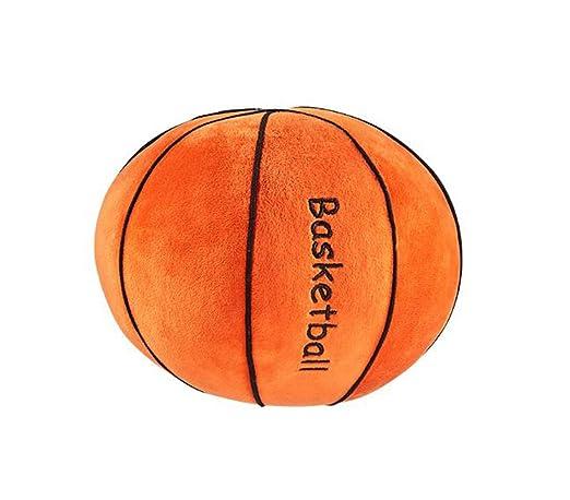 YUMU CASA Cojín de baloncesto y balón de rugby para decorar ...