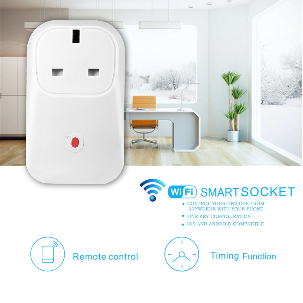 Wifi Smart Plug Timer Socket Home Intelligent Outlet Switch Wireless Remote Password Operated Appliances Control Block Diagram Power Programmable Electrical With Timing Function