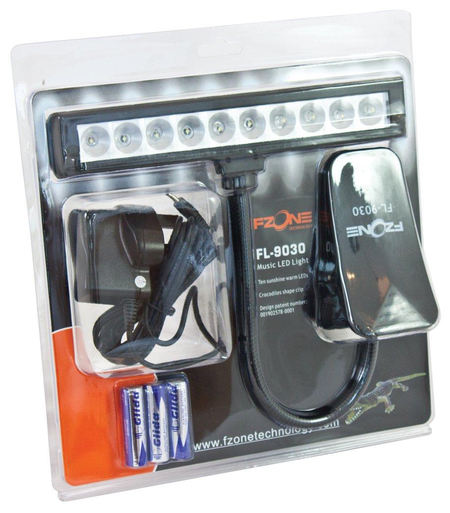 Instruments de musique et Sono Fzone Lampe de pupitre dorchestre à 10 LED