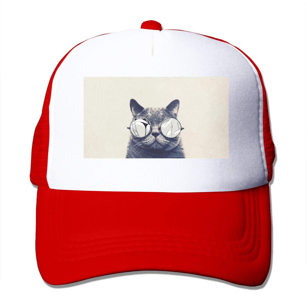 Zhiwei Station Cat Unisex 3D Printed Trucker Hat
