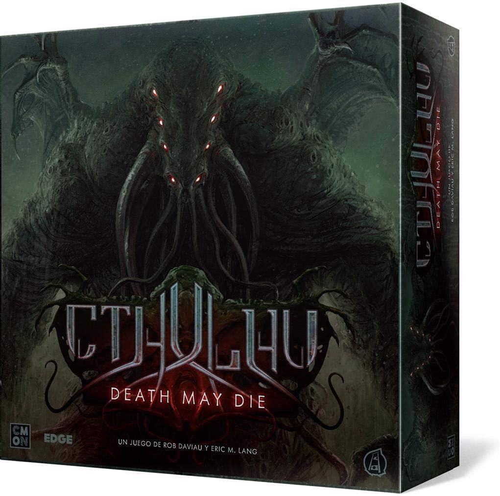 Edge Entertainment- Cthulhu: Death May Die, Color (EECMCD01): Amazon.es: Juguetes y juegos
