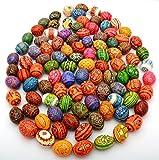 Easter Painted Eggs Wooden Ukrainian Pysanky Pysanka, Set of 500
