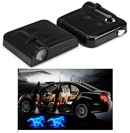 Amazon Com Fangfei 2x Wireless Laser Projector Car Door Step