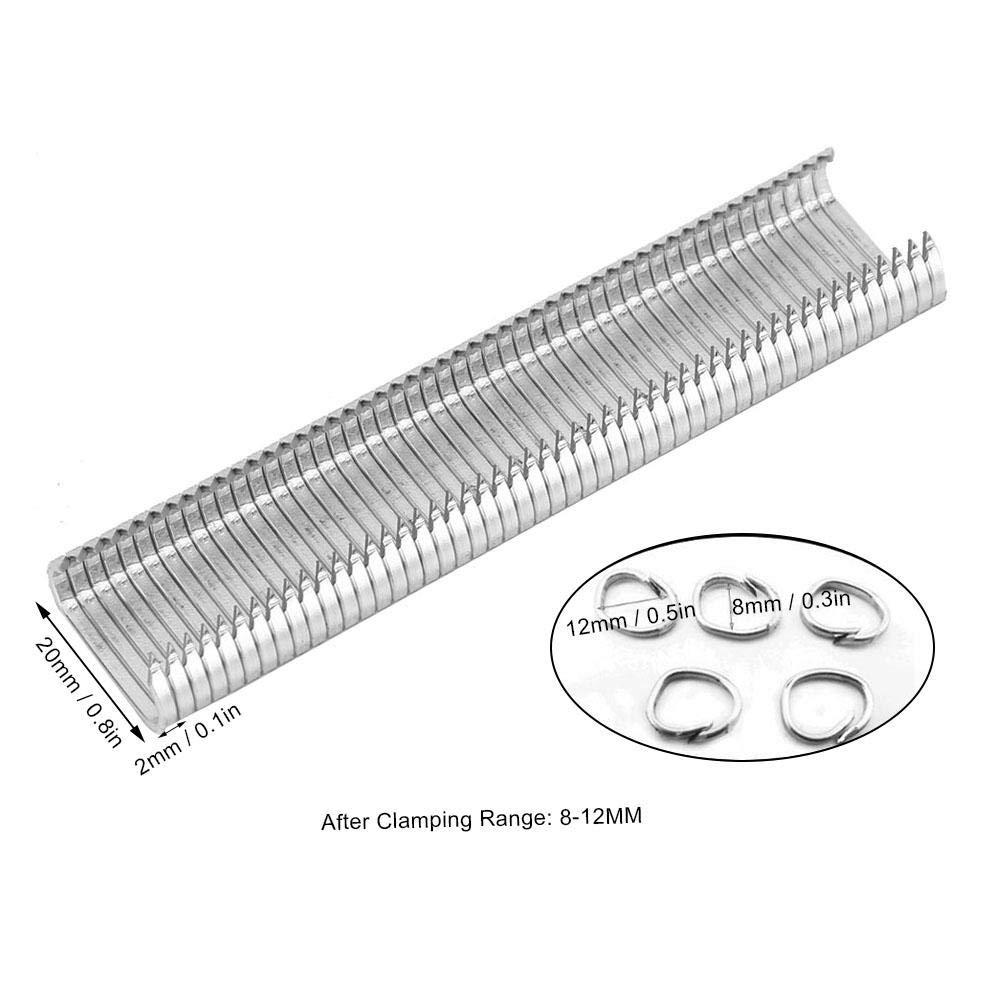 Pinces /à anneaux de type C Pinces demballage Pinces demballage de supermarch/é Pinces d/étanch/éit/é Pince /à cage animale Pince /à anneaux de porc