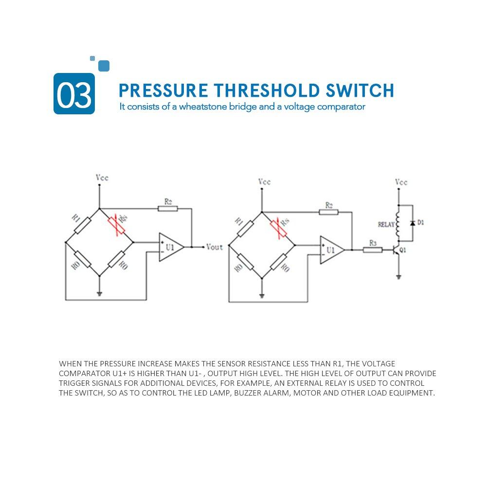RP-C18.3-LT Sensore di pressione a film sottile flessibile ad alta precisione con rilevamento di pressione flessibile range di induzione di pressione 20g-6kg