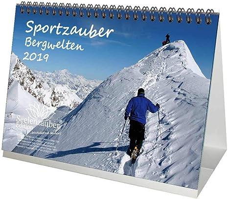 Sport Zauber Berg welten – DIN A5 – Premium Calendrier de bureau ...