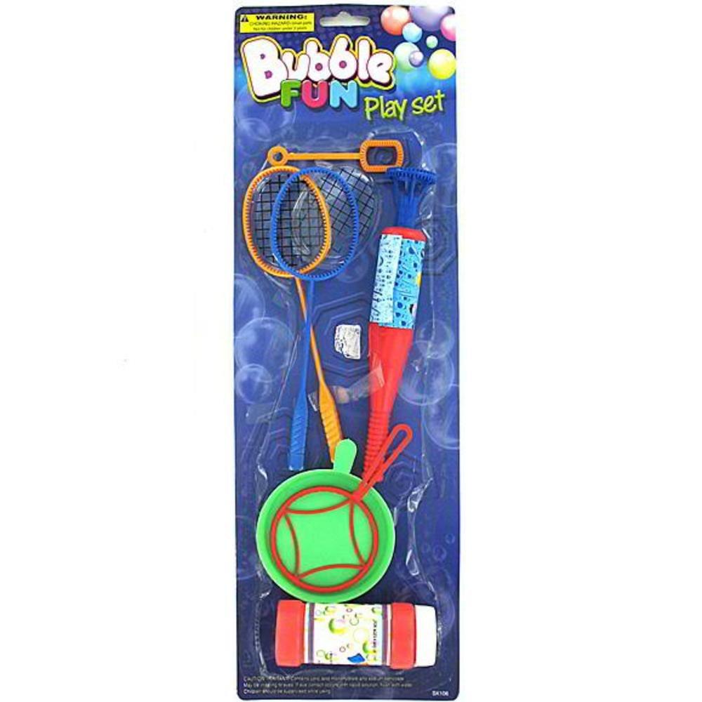 Bubble fun play set