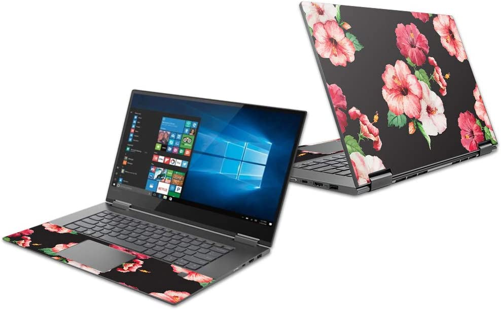 "Mightyskins Skin Compatible with Lenovo Yoga 730 13"" (2018) - Hibiscus 