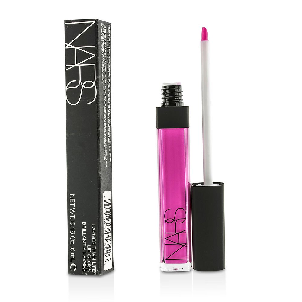 NARS by Nars Larger Than Life Lip Gloss - #Coeur Sucre --6ml/0.19oz for WOMEN ---(Package Of 2)