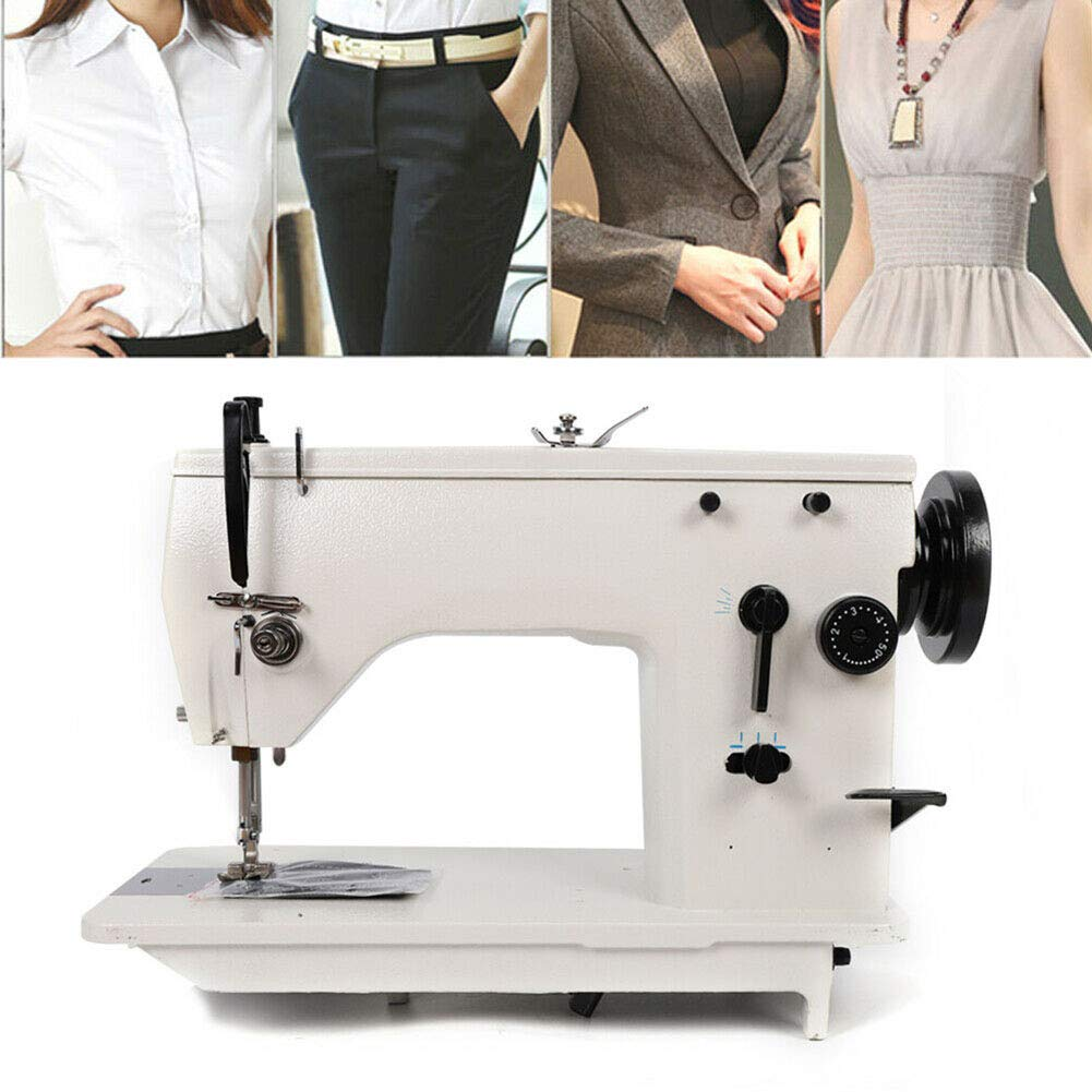 Industrial Sewing Machine Curved/Straight Seam Embroidered Heavy Duty 2000RPM by US DELIVER