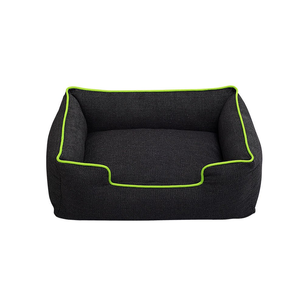 Green L Green L DBolomm Puppy Pet Bed Fit Medium Sized Dog Fat Cat Washable Ultra Soft Cozy Warm Pet Sofa (Green,L)
