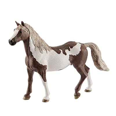 SCHLEICH Horse Club Paint Horse Gelding Educational Figurine for Kids Ages 5-12: Toys & Games