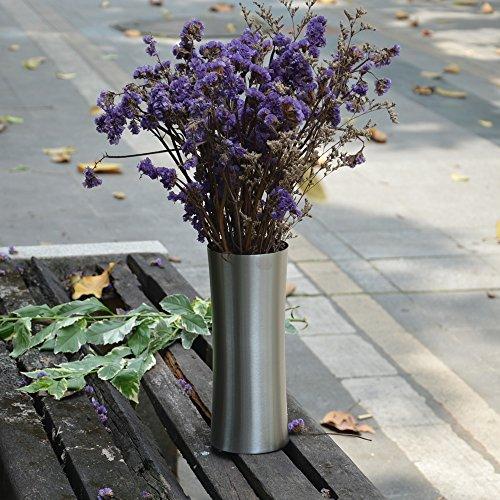 Vases Tableware (Calunce StainlessSteelVaseforIndoorFlowerDecorativeTablewareVaseWeddingVase)