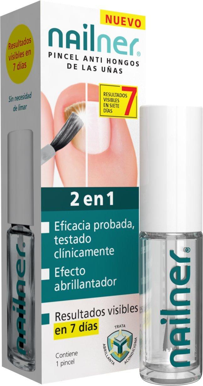 NAILNER Pincel Anti-hongos Uñas 2 en 1. 5ML Trimb healthcare 457