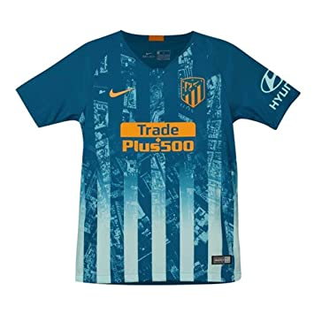 Nike 2018-2019 Atletico Madrid Third Football Soccer T-Shirt Camiseta (Kids): Amazon.es: Deportes y aire libre