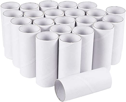 Craft Rolls - Pack de 24 tubos de cartón para manualidades, 3,9 ...