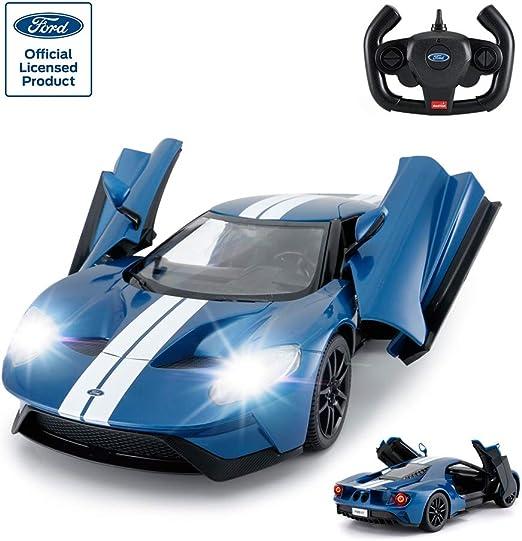 Ford GT bleu échelle 1:24 RC Télécommandé Rastar 78200 New BOXED