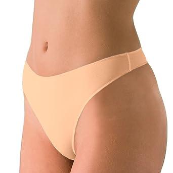 2er Spar-Pack - Nina von C. - Secret - String - Damen-Slip - Größe 36-44 - Weiß Schwarz Haut Creme