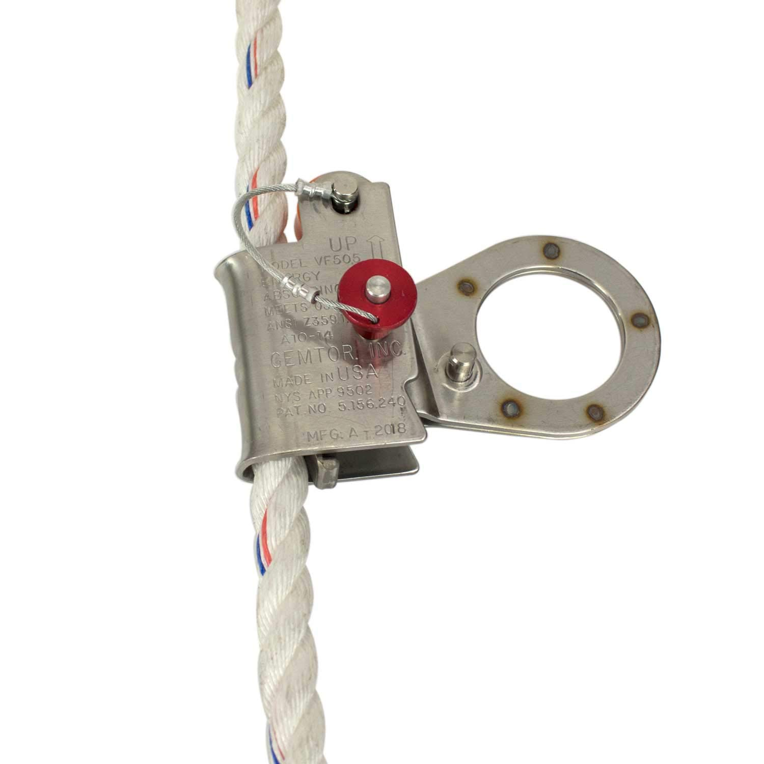 RK Fall Protection VF505 5/8-Inch Automatic Energy Absorbing Rope Grab by RK Industries Group, Inc (Image #2)