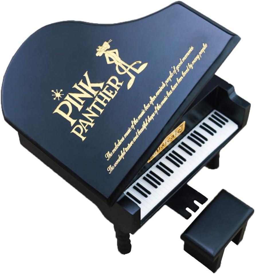 YouTang Caja Musical de Madera grabada con Cuerda para Piano: Amazon.es: Hogar