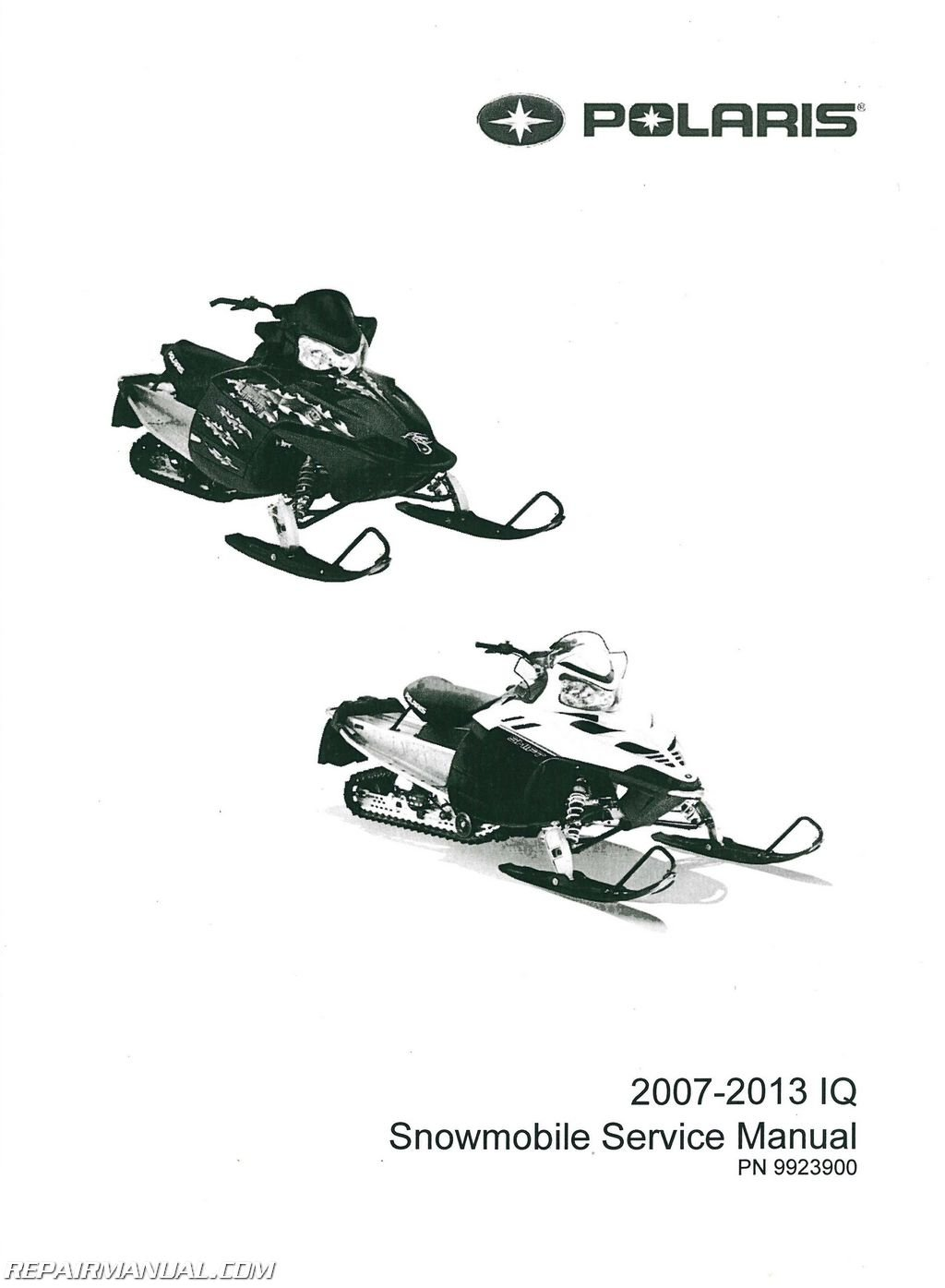 9923900 2007-2013 Polaris IQ Snowmobile Service Manual: Manufacturer:  Amazon.com: Books