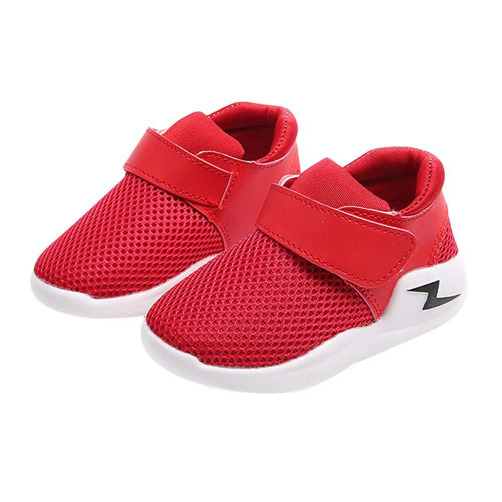 pretty nice 3a1e7 087b5 Chaussures Enfants,LHWY Chaussures de Course antidérapantes Sneakers de  Toile décontractées Baskets Respirantes Baskets