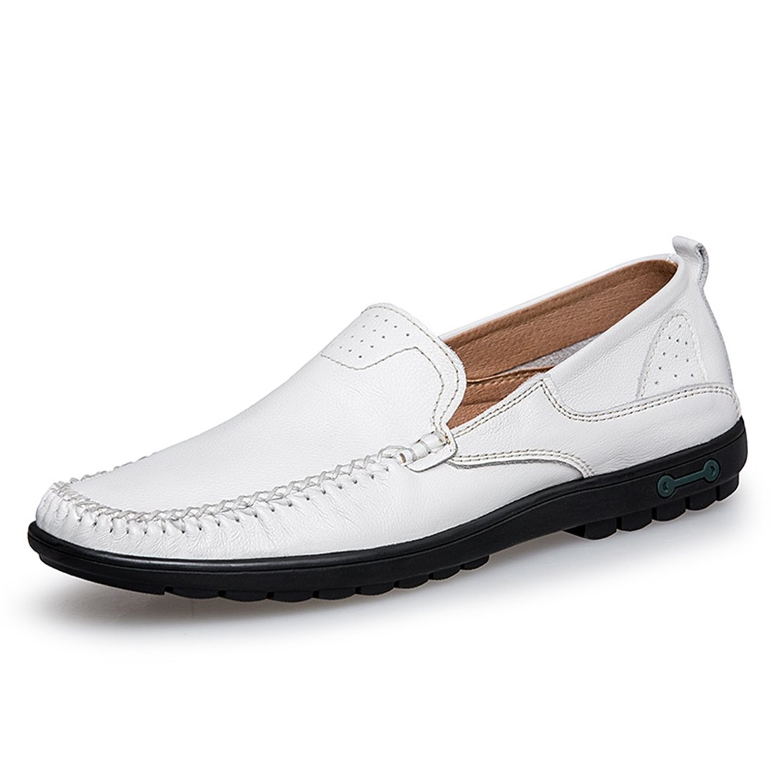 Boy's Men's Rubber Sole Stitched Fashion Loafers
