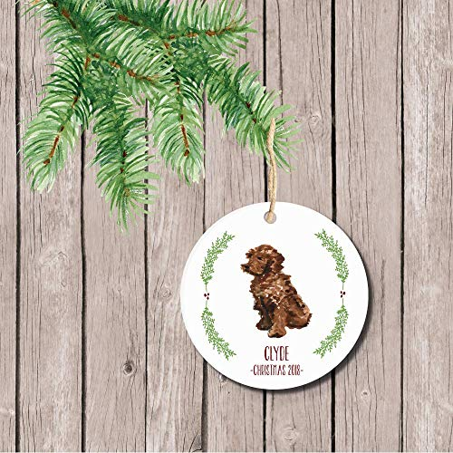 - Goldendoodle Dog Christmas Ornament Holiday Gift