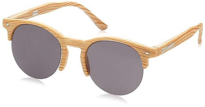 D. Franklin America Iwood Gafas de Sol, 50 Unisex