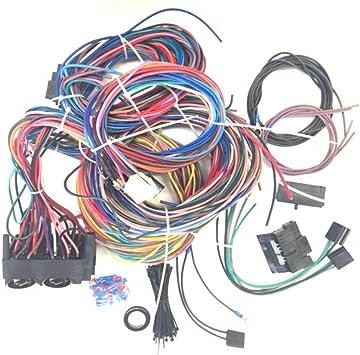 Amazon.com: New 12 Circuit EZ Wiring Harness fits for Chevy for Mopar ford  Hotrods: AutomotiveAmazon.com