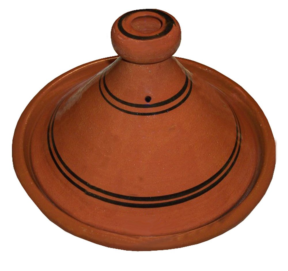 Moroccan Cooking Tagine Handmade Lead Free Safe Medium 10 inches Across Traditional