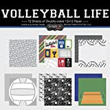 Scrapbook Customs Themed Paper Scrapbook Kit, Volleyball Life