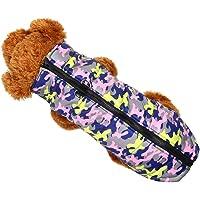 MCYs Hunde Haustier Hund Mantel Jacke Heimtierbedarf Kleidung Winter für kleine mittelgroße Hund