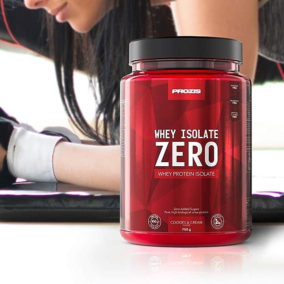 Prozis Zero Whey Isolate, Chocolate - 750 gr