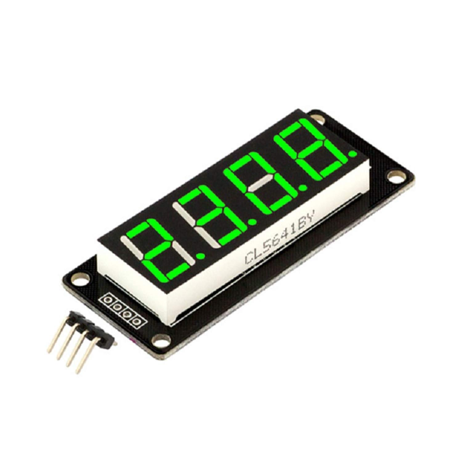 0.56/'/' Inch TM1637 4Bit Digital LED Anzeige Clock Tube Display For Arduino White