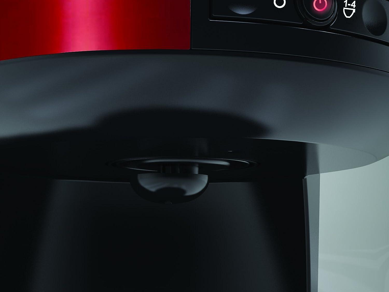 Russell Hobbs Legacy Coffeemaker 1000 W, 1.25 litros, De plástico, Acero Inoxidable, Rojo: Amazon.es: Hogar