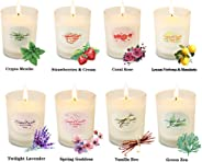 Scented Candles Aromatherapy Gifts Sets for Women Glass Jar Candle Luxury Natural Soy Wax Fragrance Essential Oils Stress Rel