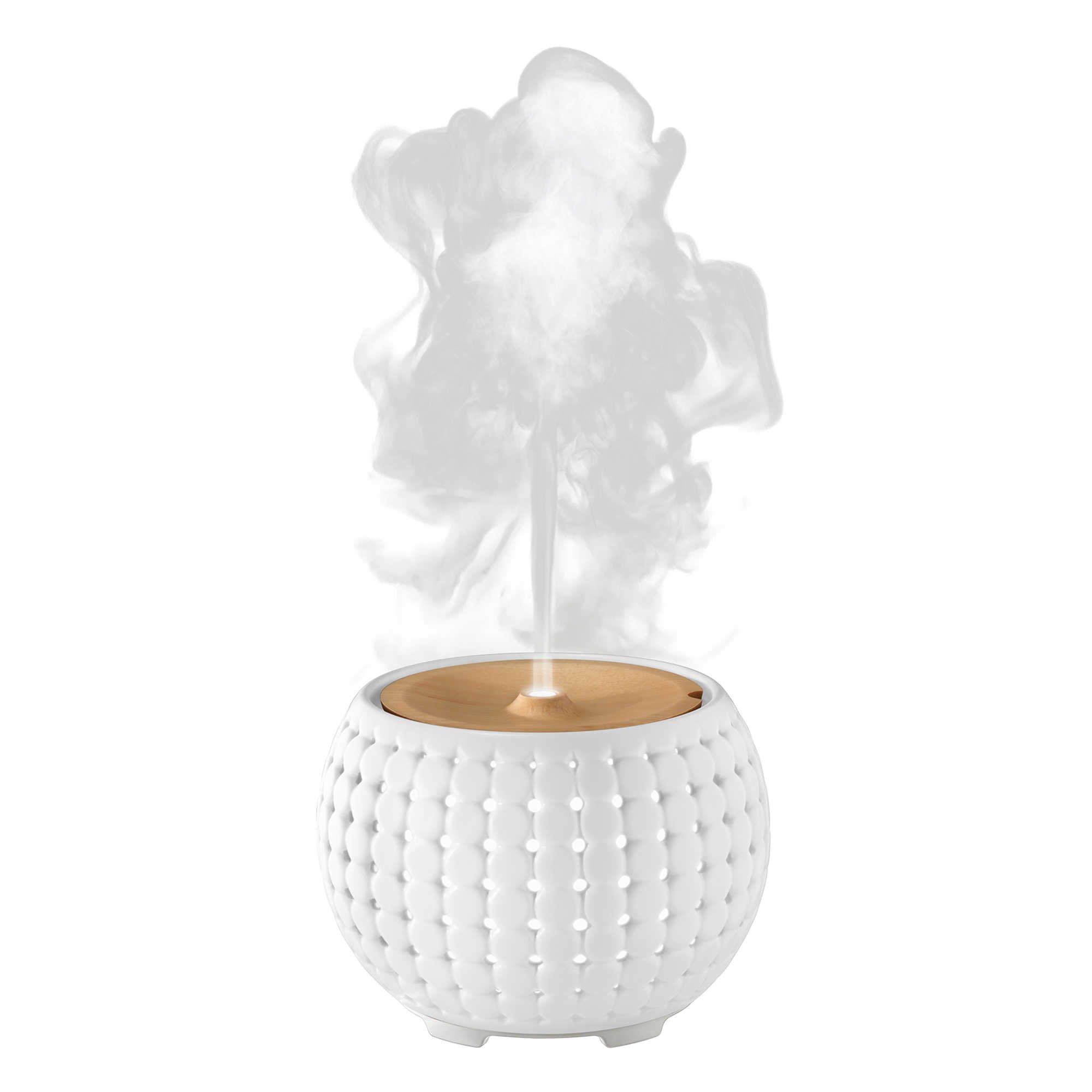 Ellia Gather Ultrasonic Natural Aroma Diffuser with Remote and Sample of Essential Oils