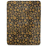 Steampunk Fitted Sheet: King Luxury Microfiber, Soft, Breathable