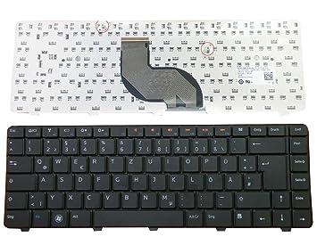 Teclado para Dell Inspiron 14 V 14R N4010 N4030 N5030 M5030 Alemán nuevo negro