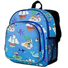 Wildkin Olive Kids Pirates Pack 'N Snack Bag, Blue