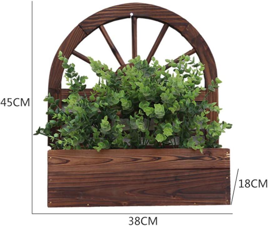 Soportes para plantas Flor Marco carbonizado Anti-corrosión ...