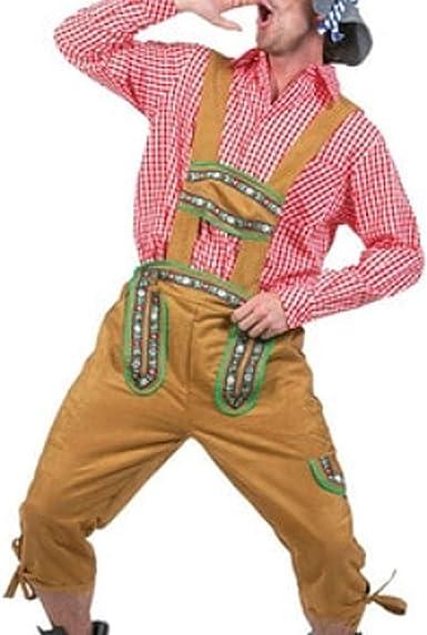 FairOnly Oktoberfest - Camisa con patrón de Cuadros, Pantalones ...